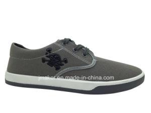 Cheap Classic Men′s Canvas Shoe, Walking Shoes (J2502-M)