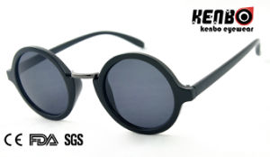Fashion Round Frame Sunglasses for Accessory, CE FDA Kp50580 pictures & photos