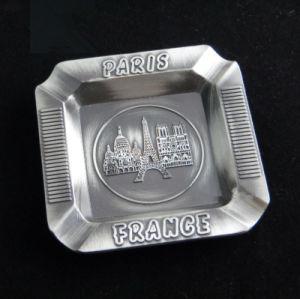 France Paris Metal Smoking Ashtray Engrave Logo Souvenir Gift (B5002)