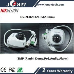 3MP Hikvision Mini Dome Hikvision IP Camera (PoE, Audio, Alarm) pictures & photos