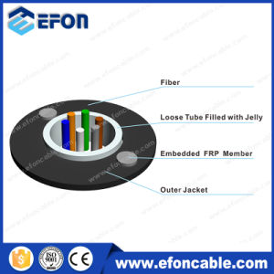 FRP Strength Member 2-24 Core Singlemode Optic Cable pictures & photos