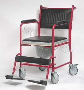 Steel, with Comfortable Seat, Commode Chair, Easy to Use for Old People (YJ-7100A) pictures & photos