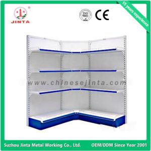 Single Sided Wall Shelf, Metal Supermarket Shelves, Corner Shelf (JT-A24) pictures & photos