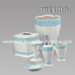 Yellow Edge Porcelain Bath Accessory (WBC0415A) pictures & photos