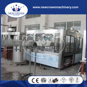 4000bph Screw Feeding Type Automatic Water Filling Machine for Pet Bottle pictures & photos