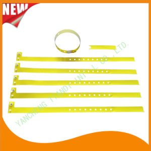 Hospital Plastic ID Wristband Bracelet Bands with Tail (8060-15) pictures & photos