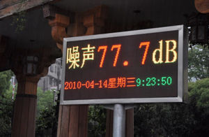 P16 Dual Color Traffic LED Display pictures & photos