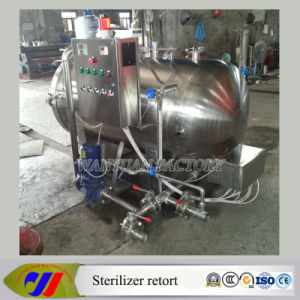 Small Model Autoclave Sterilizer Retort for Sterilization Luncheon Meat pictures & photos