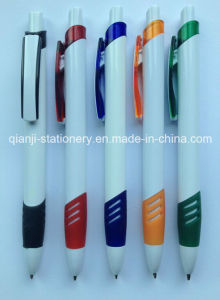 Plastic Promotional Ball Point Pen (P3007A) pictures & photos