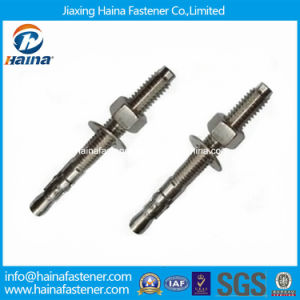 M8*80 Stainless Steel 304 Wedge Anchor Bolt for Concrete pictures & photos