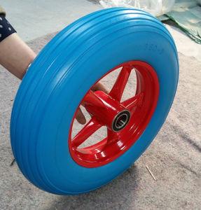 16 Inch 4.00-8 Flat Free PU Foam Wheel