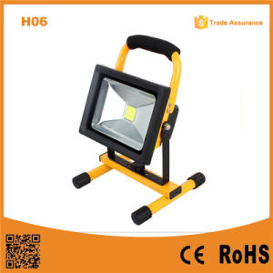 H06 20W Super Bright Rechargebale LED Flood Light pictures & photos