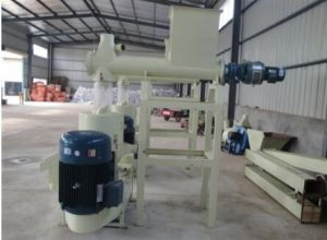 Small Scale Flat Die Fish Feed Pellet Making Machine pictures & photos