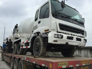 8cbm Mixering Drum Used Isuzu Concrete Mixer Truck of Isuzu Truck Mixer pictures & photos