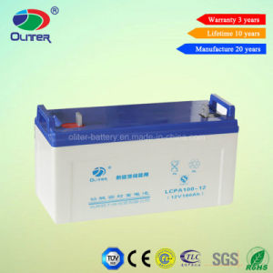 12V 100ah AGM Battery with Strict Quality Inspection pictures & photos