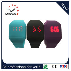 Logo Acceptable Silicone LED Watches (DC-368) pictures & photos