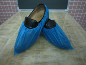 Cheap Disposable PE CPE Shoe Cover pictures & photos