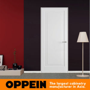 Guangzhou Oppein Modern Simple White Lacquer Panel Door (JHS-002) pictures & photos