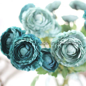 Colorful Retro Single Ranunculus Artificial Flower (SW04801) pictures & photos