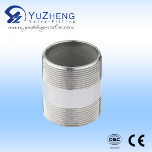 Industrial Ss Male Thread Barrel Nipple pictures & photos