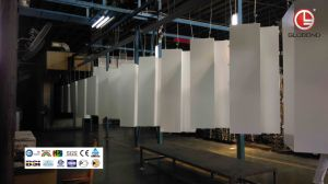 PVDF Spray Painted Solid Aluminium Panel for Cladding (GL-003) pictures & photos
