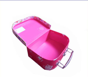 Paper Suitcase Shape Gift Box with Window pictures & photos