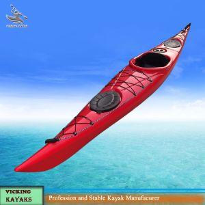 Single Seat Sit in Ocean Kayak with Rudder System