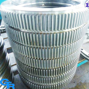 Precision Excavator/Crane Spare Parts Cross Roller Slewing Bearing pictures & photos