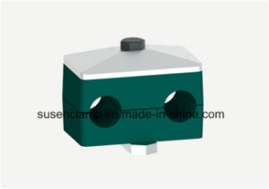 Twin /Double Plastic Clamp for Pipe /Cable pictures & photos