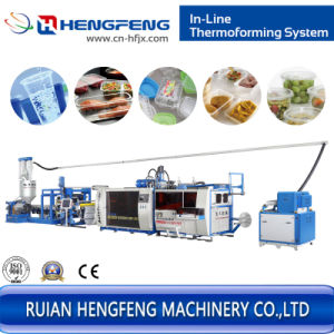 Plastic Cup Thermoforming Machine Line pictures & photos
