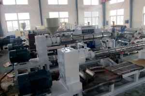 Fully Automatic Plastic Sheet Extruder Machine Manufacturing PP Film pictures & photos