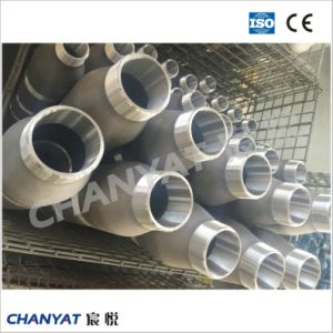 A312 (TP304H, TP316H, TP317) Stainless Steel Grooved Ecc. Pipe Nipple pictures & photos