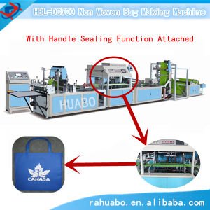New Condition Ultrasonic Non Woven Bag Making Machine pictures & photos