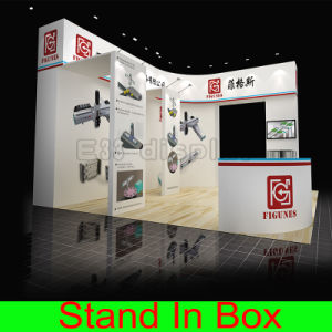 Lightweight Portable Custom Graphic Exhibition Stand Displays with Carrying Case pictures & photos