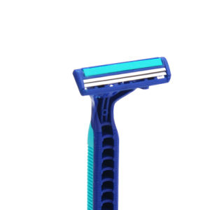 Twin Blade Blue 2 Pivot Head Diposable Shaving Razor (JG-T805) pictures & photos