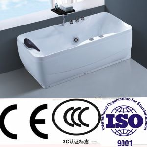 New Family Water Surfing Sanitary Ware Whirlpool Bathtub (NJ-3068) pictures & photos