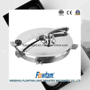 Food Grade Stainless Steel Round Manway with Uper Seal pictures & photos