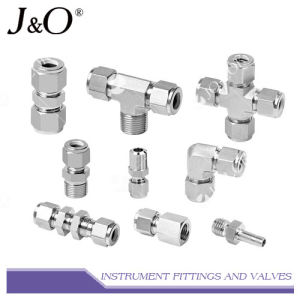 Stainless Steel Compression Double Ferrule Tube Pipe Fitting pictures & photos