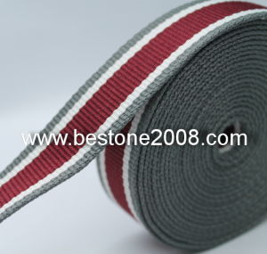 High Quality Strip Polyester Webbing Garment Accessories 1603-56A pictures & photos