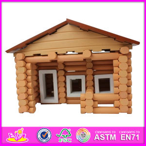 2014 New Kids Wooden House Toy, Popular Children Wooden House Toy and Hot Selling Baby Wooden House Toy W06A076 pictures & photos