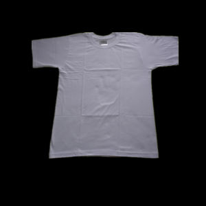 100% Cotton T- Shirts Soccerball Design Compressed T-Shirt pictures & photos