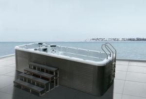 Powerfull Luxury Outdoor 5.8 Meter Acrylic Swim SPA (ZR7801L)