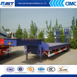 30t Two Axle Low Bed Semi Trailer pictures & photos