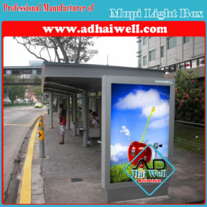 Bus Stop Shelter Side Light Box pictures & photos