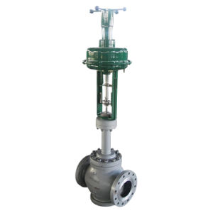 K307 Bellow Caged Control Valve with Hand Wheel