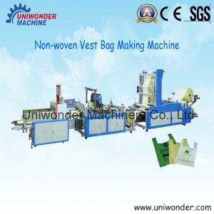 Uw-F600 Non-Woven Fabrics Vest Bag Making Machine