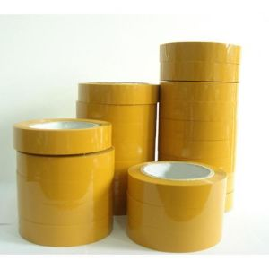 Good Adhesion Yellow BOPP Adhesive Tape pictures & photos