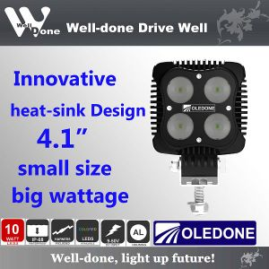 "4"" 40W Square CREE LED 4X4 Driving Light"