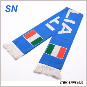 2014 World Cup Soccer and Football Fans Scarf (SNFS1033) pictures & photos