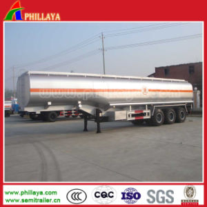 45000liters Stainless Steel Tank Truck Trailer in Semi Trailer pictures & photos